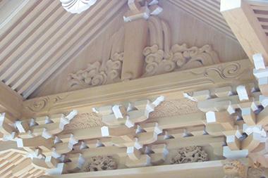 社殿・幣殿・拝殿・手水舎・御堂・地蔵堂工事