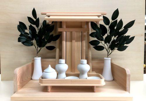 新作神棚 神宮一社(木曽桧製)